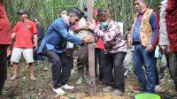 Wabup Ikuti Ritual Balek Angin HUT Kota Sanggau