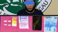 Nekat Berjualan Sabu, Polisi Tangkap Warga Jalan RE Martadinata Sanggau