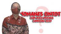 Yohanes Ontot Nyatakan Diri Siap Maju Pilkada Sanggau 2024