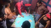 Ketangkap Tangan Main Judi Remi Box , Empat Orang Warga Kembayan Diamankan Polisi