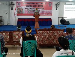 Dewan Adat Dayak Kecamatan Sekayam Gelar Musdat Ke-V