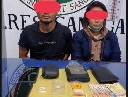 Hendak Bertransaksi Narkotika Di Jembatan Tayan, Dua Sejoli Diamankan Polisi