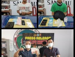 Mantap! Operasi Sehari, Satres Narkoba Polres Sanggau Bekuk Dua Pengguna Narkoba Dikembayan