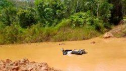 Akibat Curah Hujan Tinggi, Akses Jalan Dusun Tigur Jara Lumpuh