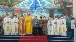 Peringati 300 Tahun Yubelium Dan 75 Tahun Kongregasi  Pasionis Di Indonesia , Paroki Santo Paulus dan Petrus Laksanakan Misa Syukur